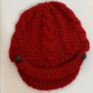 Bala Headwear Red Knitted Cap